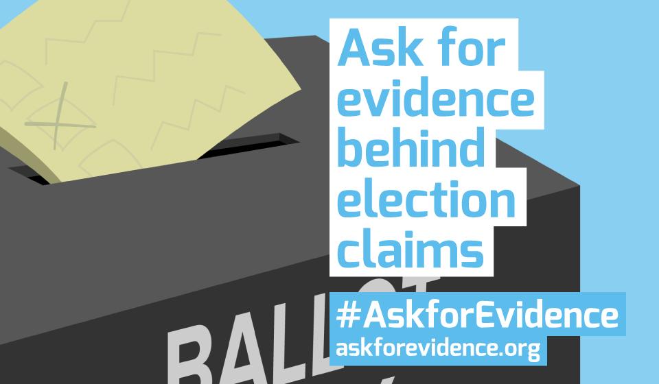 Ask for Evidence - ballot box