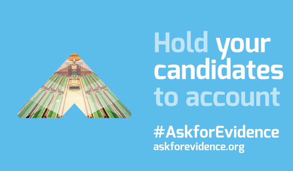 Ask for Evidence - hold your candidates to account