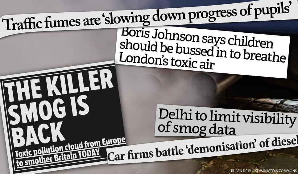 Smog headlines