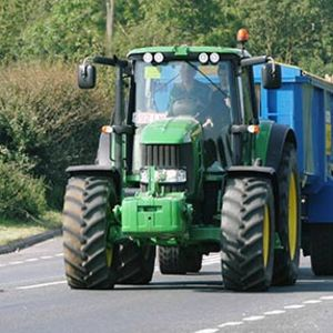 Tractor speed limits