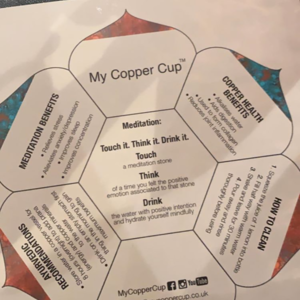 Image of My Copper Cup promotional leaflets