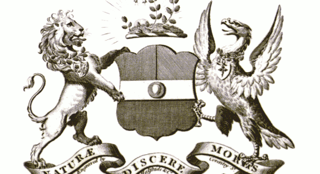 Coat of arms of the linnean society of london renewed