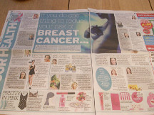 Daily mirror breast cancer risks web